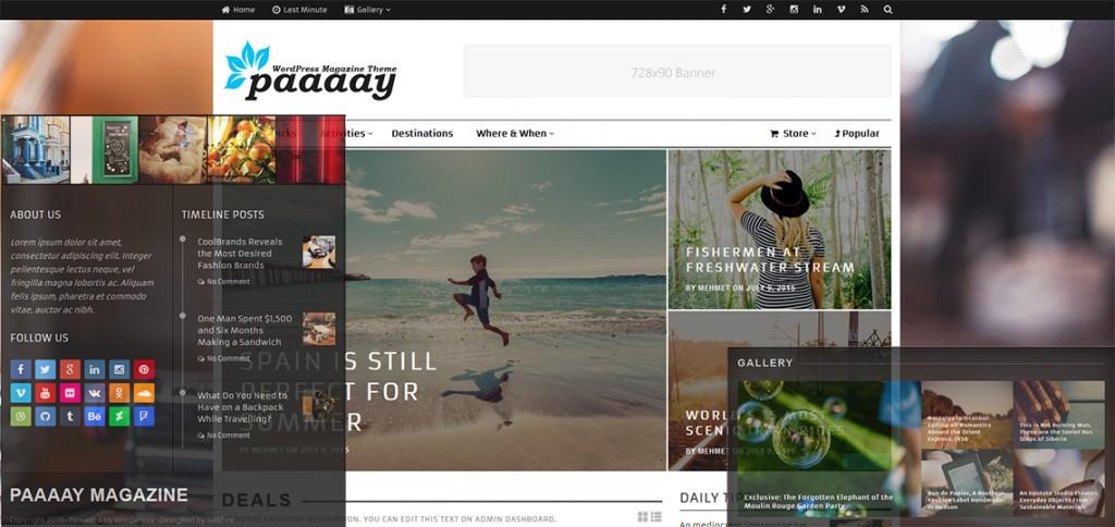 WordPress Magazine Theme